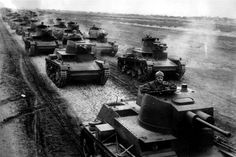 A column of 7TP Polish Light Tanks during War Games near the German border. Pin by Paolo Marzioli