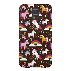 unicorn rainbow kids background horse galaxy s5 cover