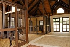 pretty equine facilities | Inside the Princess barn by Geoff Tucker