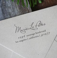 Custom Rubber Stamp - Wood Handle - Personalized - cute birthday or housewarming gift - a1030. $21.95, via Etsy.