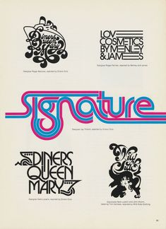 Rejected logos and designs, Herb Lubalin