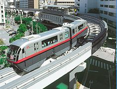Monorail great for Okinawa sightseeing! Naha Area. Give access to Naha Airport, Kokusai-dori street and Shuri Castle.
