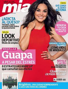 Revista #Mía 1537. Monica Carrillo, una escritora en los informativos. Guapa a pesar del estrés. 8 estrategias #makeup.