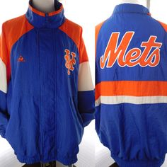 A personal favorite from my Etsy shop https://www.etsy.com/listing/501148420/vintage-ny-mets-nylon-windbreaker-spring