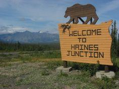 City of Haines Junction, Yukon Territory, Canada