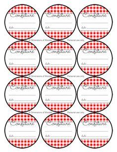 Nostalgic French Jelly Jar Labels, Printable & Free | Dimensions of Wonder