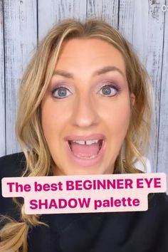 This is a great tip for anyone but especially beginners. Best Foundation, Natural Makeup, Eyeshadow Palette, Makeup Ideas, Makeup Looks, Eye Makeup, Tutorials, Good Things, Tips