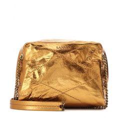 Lanvin - Baby Sugar Bag in metallic leather - mytheresa.com