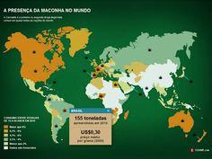 A geografia da maconha