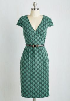 Peace and Client Dress in Dots by ModCloth