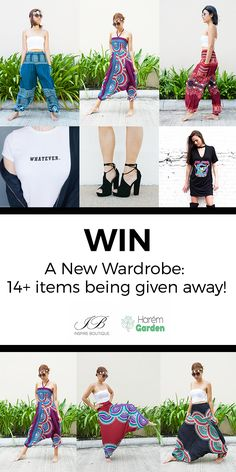 Win A Huge Wardrobe Makeover!