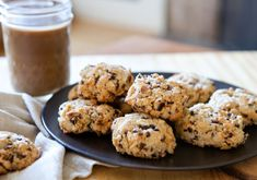 Almond Meal Cookies with Coconut and Cacao Nibs from @Sara Forte's The Sprouted Kitchen cookbook
