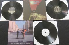 Online veilinghuis Catawiki: Pink Floyd - 2 times live on 3 LP's: Pompeii (gatefold!) & Wish You were Here/Live in Paris
