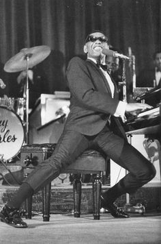 "Ray Charles ""What'd I say"", ""Hit the road Jack"", ""Georgia"", The Right Time"" and so many more favorites. Mom and Dad got to see Ray live back in the day!"