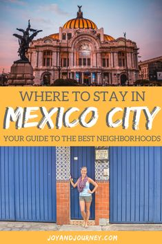Don't search for a hotel or Airbnb in Mexico City until you've seen THIS guide, which narrows down the best neighborhoods for accommodation in Mexico's biggest, brightest city.