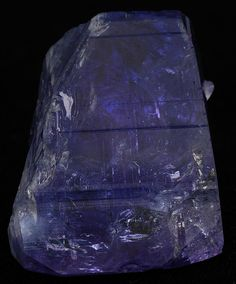 Tanzanite crystal by Wood's Stoneworks and Photo Factory, via Flickr