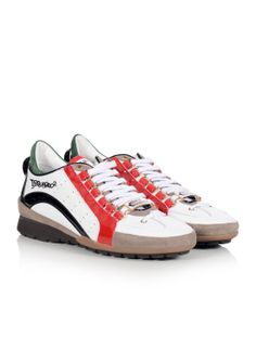 Leather Athletic Shoes for Women New Trainers, All About Shoes, Italian Fashion, Dsquared2, Athletic Shoes, Shoes Sneakers, Best Deals, Leather, Shopping