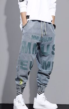 Jeans Cargo, Denim Jeans, Loose Jeans, Loose Fit, Mens Hawaiian Shirts, Boy Hairstyles, Swag, Joggers, Cool Outfits