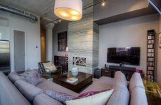 Concrete Column, Concrete Ceiling, Toronto Lofts, Lofts For Rent, Multi Family Homes, Guest Suite, Workout Rooms, Victorian Homes, Built Ins