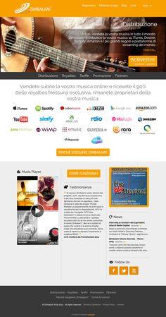 Zimbalam è un servizio di distribuzione digitale di musica per artisti ed etichette indipendenti.