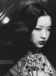 Du Juan by Paolo Roversi for W, October 2006