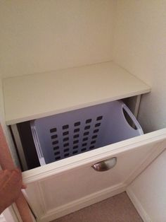 Built-In Laundry Cabinet from the Kreg Owners' Community