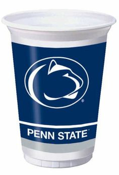 Creative Converting Penn State Nittany Lions Printed Plastic 20 oz. Cups (8 Count) by Creative Converting. $6.99. Holds 20 ounces. The perfect supplies for your tailgating, Bowl game or sports themed party - show your team spirit and pride. See Creative Converting's coordinating line of party favors and dinnerware - inflatable fingers, wrist bands, head bands, pom poms, cheer sticks, cups, plates, napkins, chip trays and décor. 8 count. Collegiate NCAA team logo prin...