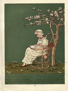Kate Greenaway illustration | READER | Pinterest