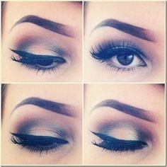 Web Makeup Course von Andréia Venturini - Maquiagem - Augen Make Up Eye Makeup, Kiss Makeup, Hair Makeup, Brown Makeup, Alien Makeup, Witch Makeup, Makeup Eyebrows, Glitter Makeup, Flawless Makeup