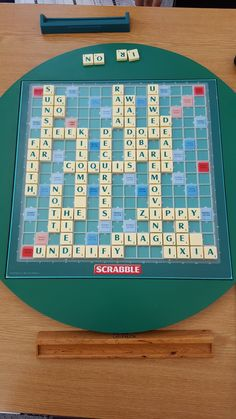Some game boards form day 6 of 2017 world scrabble championships Some Games, Scrabble, Board Games, Day, Image, Tabletop Games, Table Games