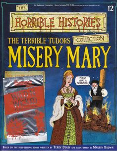Terrible Tutors Misery Mary from the Horrible Histories Magazine FREE online