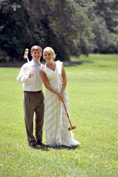 Southern Wedding: Croquet