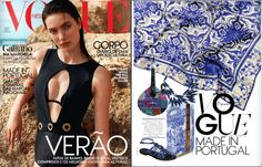 Heritage Cabinet on May edition of Vogue Portugal. www.bocadolobo.com #luxuryfurniture #bocadolobo