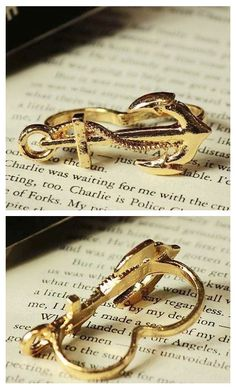Double finger anchor ring