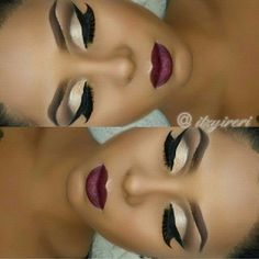 Fall Makeup Ideas ❤ liked on Polyvore featuring beauty products, makeup, sexy makeup, eyebrow makeup, dark makeup, eye brow makeup and brow makeup