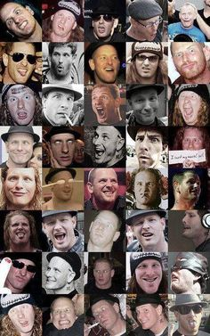 Faces of corey taylor