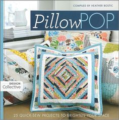 We LOVE this book! So many of the designs could be expanded into quilts, throws or wall hangings. Really a great value!