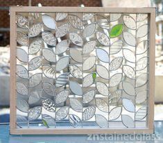 vines & textures... ©znstainedglass 2012