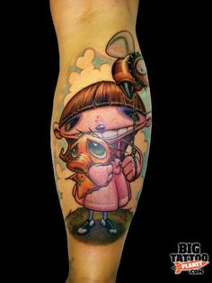 Jesse Smith - Colour Tattoo   Big Tattoo Planet