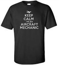 Keep Calm I'm An Aircraft Mechanic T-Shirt Funny Airplane Occupation Mens Tee Airplane Mechanic, Airplane Humor, Funny Tees, Funny Tshirts, Perfect Gift For Dad, Graphic Tee Shirts, Best Dad, Mens Tees, Dads