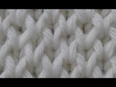 Tutorial -CONTINENTAL - How to knit the Honeycomb knitting stitch pattern - easy to knit / Comment tricoter le point fantaisie, motif - Nid d'abeille / как вязать узор Соты Knitting Stiches, Circular Knitting Needles, Knitting Videos, Free Knitting, Crochet Stitches, Knitting Patterns, Diy Crafts Knitting, Diy Crafts Crochet, Crochet Hat With Brim