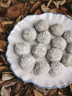 Lime and coconut truffles Petite Kitchen