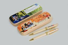 https://flic.kr/p/PaEe31 | Full color printing on wooden pen holders | A great idea to enhance the wood pen personalization business is printing on wooden pen holders. This way, the wooden pens become more than simple promotional items, it becomes a much appreciated gift for personal use.  artisjet.com/index.php/en/en-opportunities/en-application... www.artisjet.com info@artisjet.com