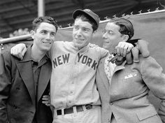 Joe, Vince and Dominic DiMaggio  While Joe DiMaggio was the only one to become a Hall of Fame legend, the three DiMaggio boys were all professional baseball players. Dom DiMaggio played 11 seasons with the Boston Red Sox and was an All-Star seven times. Vince DiMaggio's longest stint was with the Pittsburgh Pirates and was a two time All-Star.