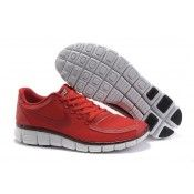 new styles 7d870 5d26b Vente nike free 5.0 v4 pour homme chaussures sport rouge pas cher prix 2014