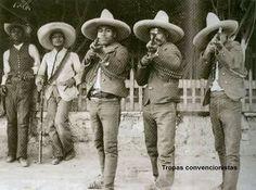 Tropas de la convension de Aguascalientes