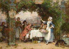 """""""@VicoLudovico: #Figurativism #DonneInArte #ArtLovers   Pierre #Outin  Calypso's Bower,1875  @alecoscino  """""""