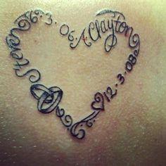 husband name tattoo  #idotattoo #husbandtattoo #teamwedding