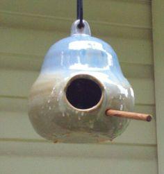 Shearwater Pottery -  Birdhouse - Ocean Springs, MS