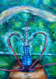 Hookah Art!  Come to Lux Lounge in West Bloomfield, MI to relax with friends at a premiere hookah lounge in an upscale atmosphere!  Call (248) 661-1300 or visit www.luxloungewb.com for more information!